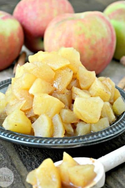 Pumpkin Pie Spiced Apple Compote