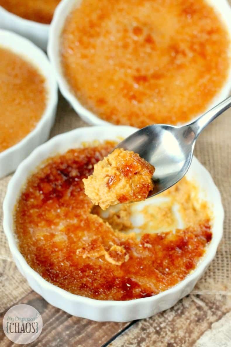 Pumpkin Creme brulee recipe