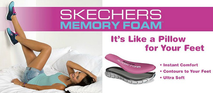 Skechers memory foam review canada