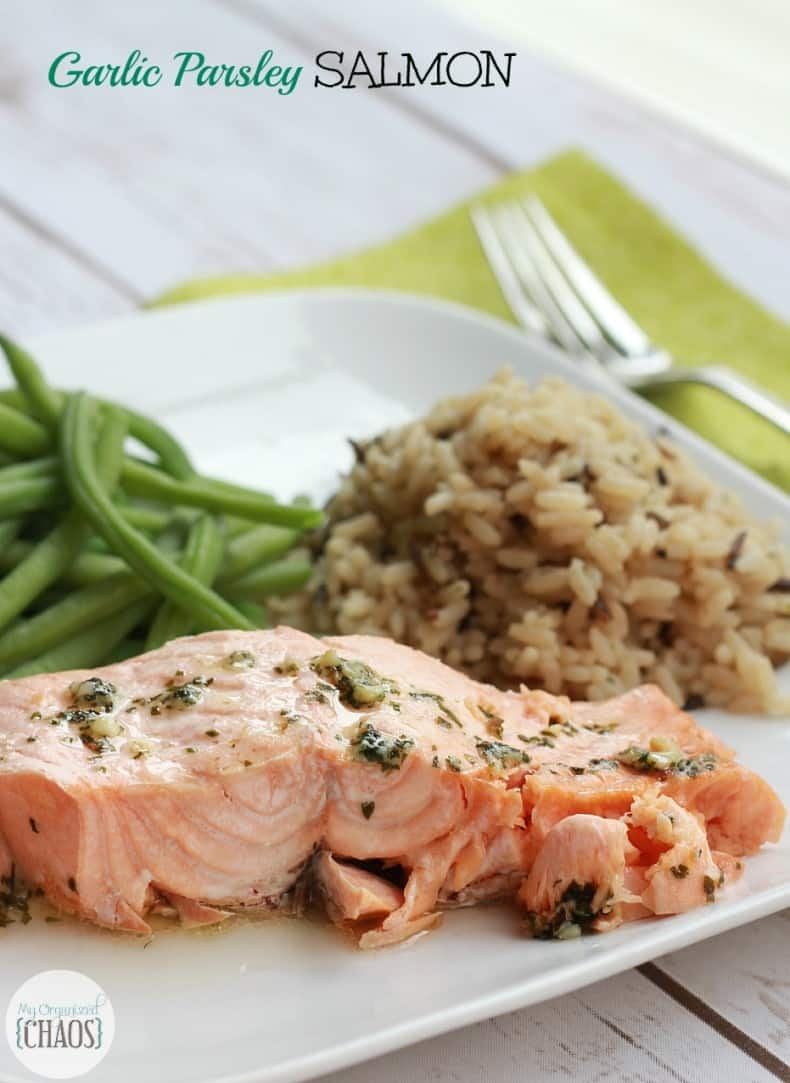 garlic parsley salmon