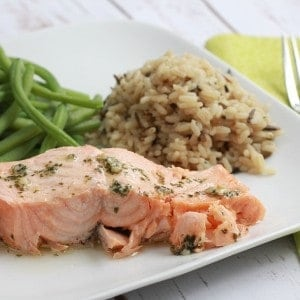 Easy Garlic Parsley Salmon – Just cook the bag!