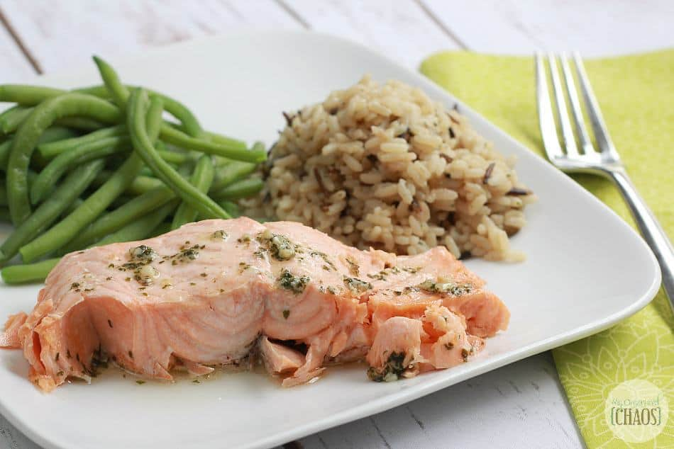 garlic parsley salmon easy dinner
