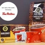 get into the dark tim hortons giveaway