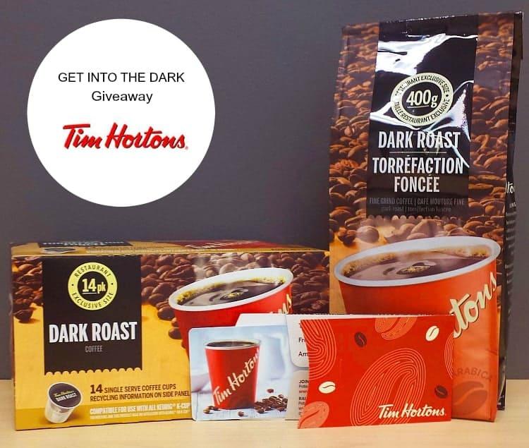 Get into the Dark with Tim Hortons #TimsDark