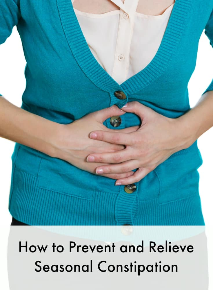 how to prevent and relieve seasonal constipation