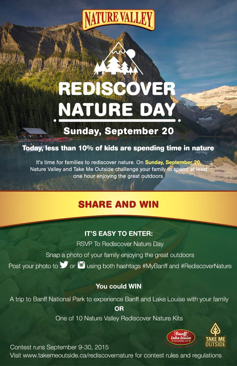 rediscover nature day contest mybanff