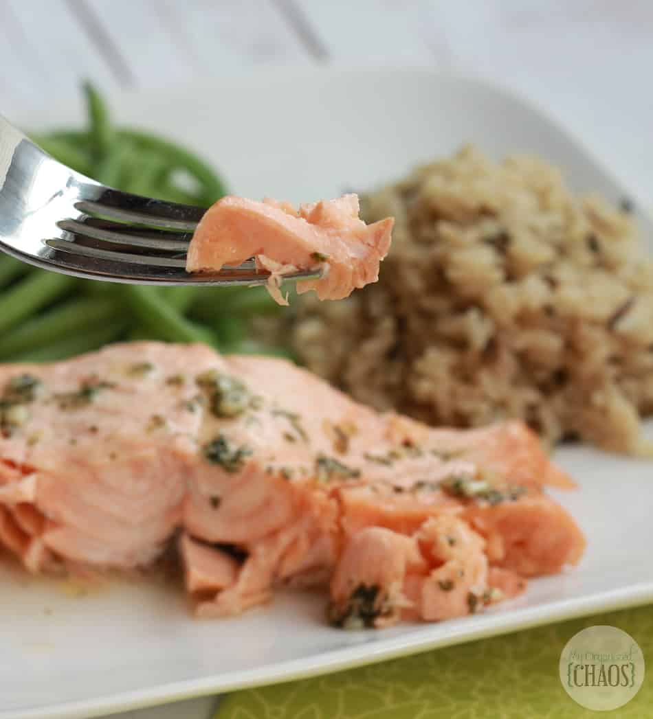 sobeys seafood steamer garlic parsley salmon