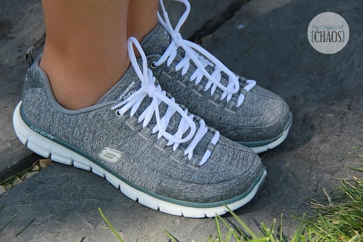 womens memory foam skechers shoes review canada