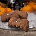 Almond Breeze Chocolate Bat Biscuits