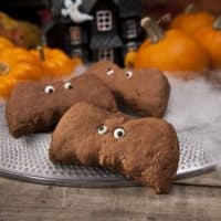 Chocolate Bat Biscuits
