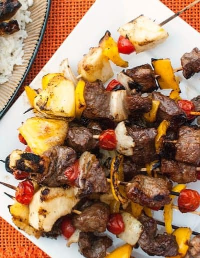 Asian Beef Marinated Kabobs
