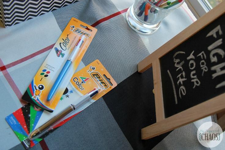 BIC 4 Colour pens