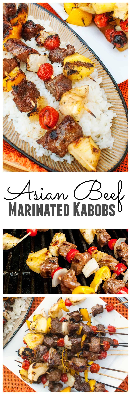 asian beef marinated kabob skewers