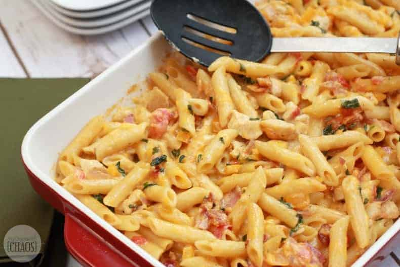 baked chicken bacon ranch casserole