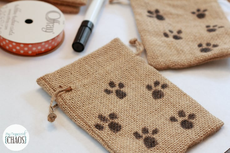 easy halloween treat bags for dogs diy