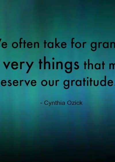 12 Things to be Thankful for in Life