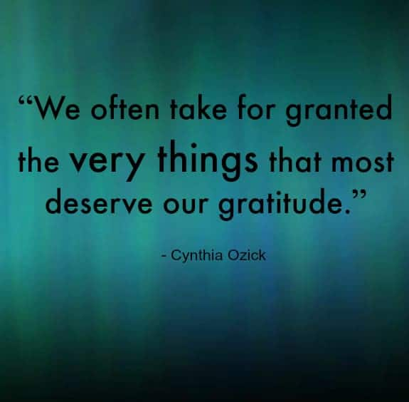 graitude thanksgiving quote