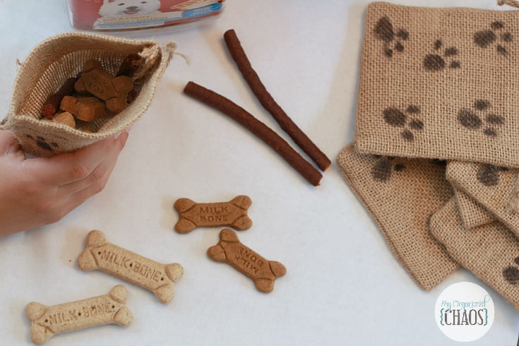 hallowen treat bags for dogs easy diy