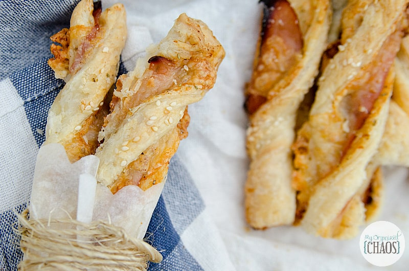ham and havarti twists puff pastry recipe