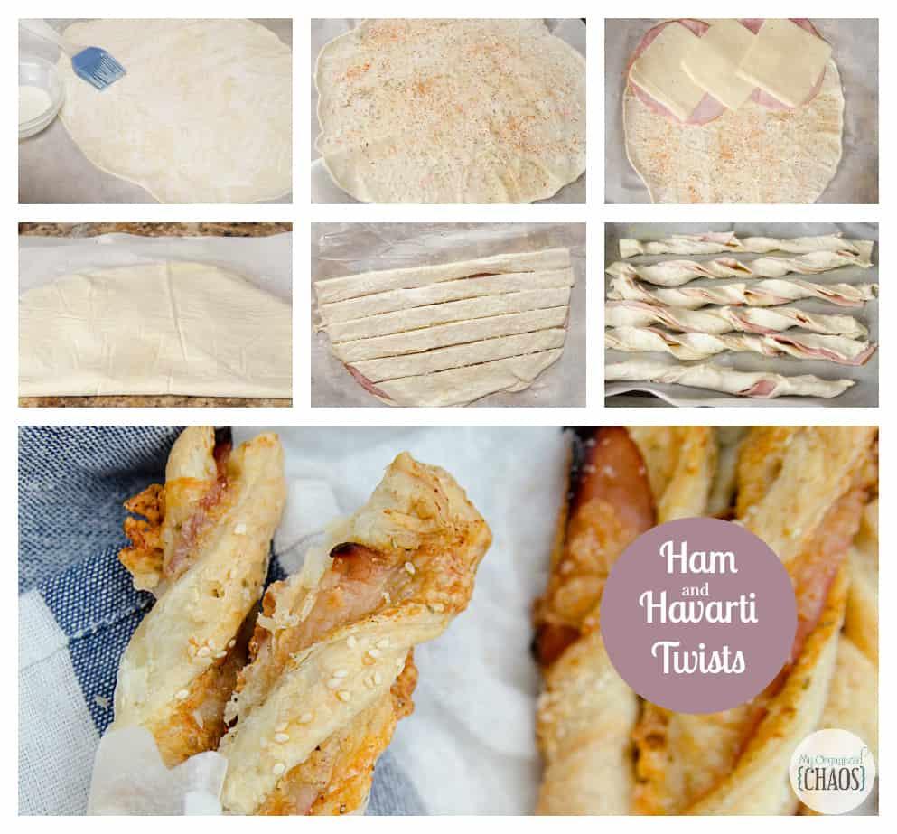 ham and havarti twists recipe