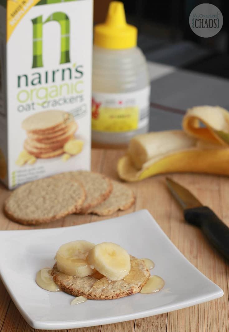 nairn's oatcakes recipe snack