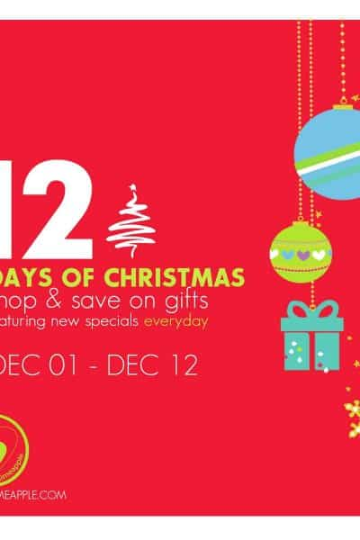 Limeapple's 12 Days of Christmas Sale