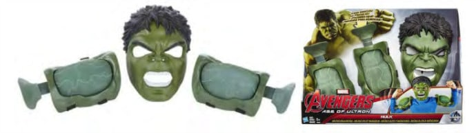 MARVEL'S AVENGERS AGE OF ULTRON HULK Muscles & Mask