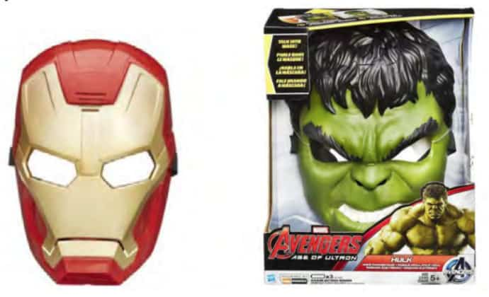 MARVEL'S AVENGERS AGE OF ULTRON VOICE CHANGER MASK Assortment