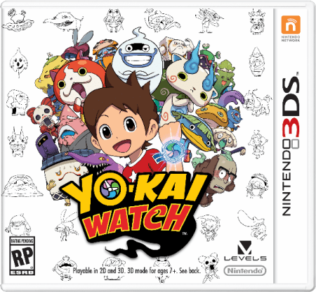 Nintendoi 3DS Yo-Kai Watch
