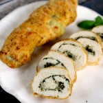 Pesto Cheese Stuffed Chicken Rolls