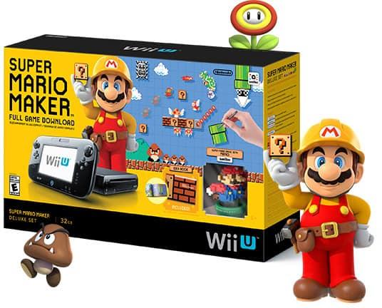 Super Mario Maker Wii U Deluxe Set