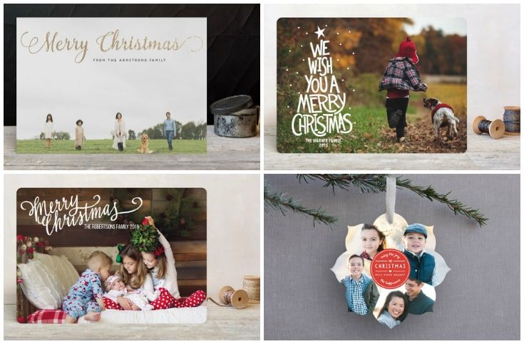 christmas photo cards minted.com