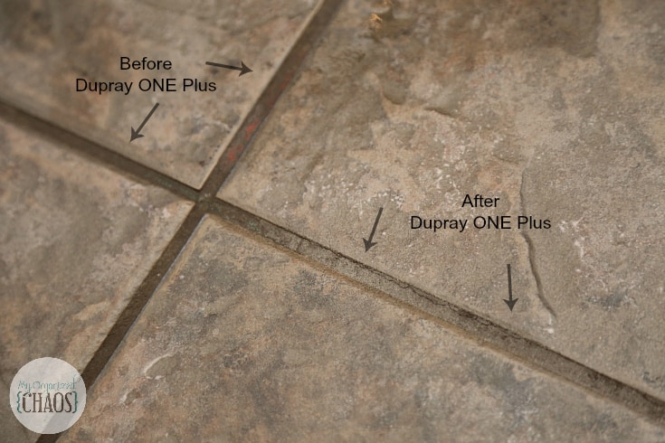 dupray ONE Plus tile grout results review