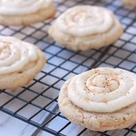 eggnog cookies cookieeggchange