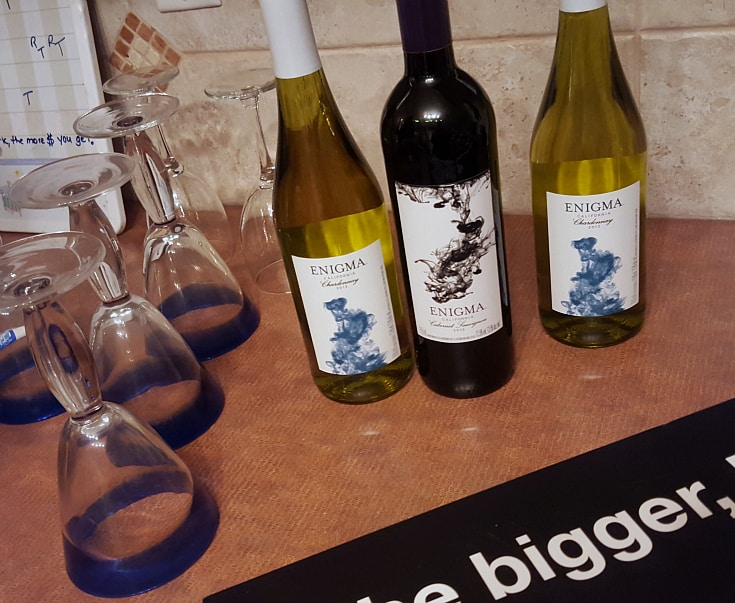 girls night out wine suggestion enigma