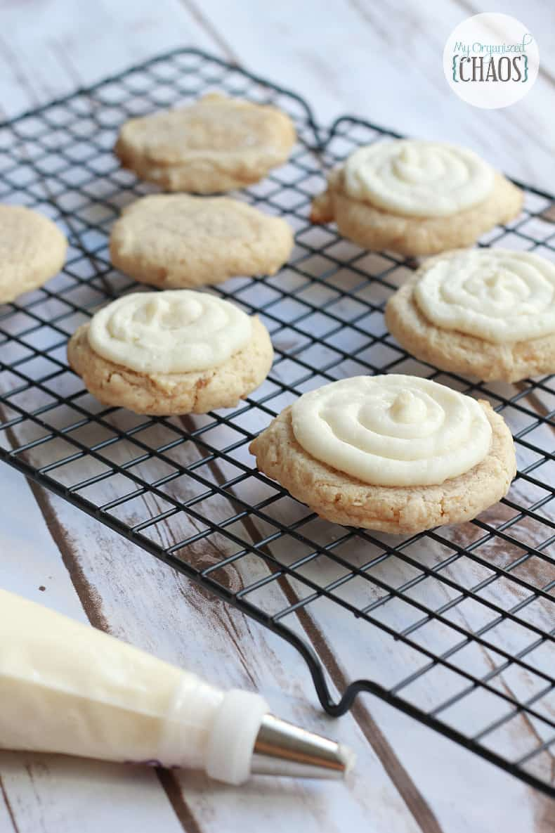 holiday eggnog cookies