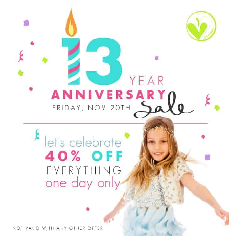 Limeapple Anniversary Sale – 40% Off Everything!