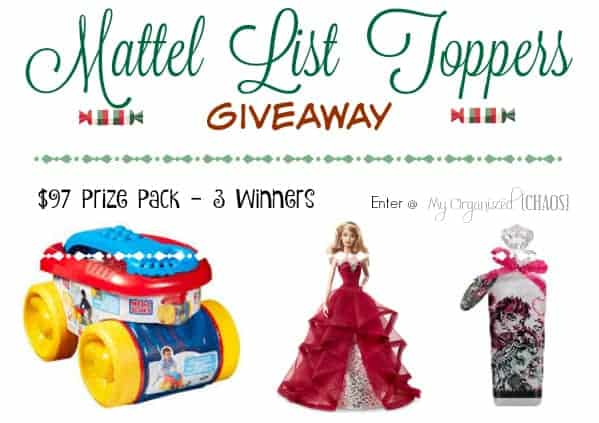 Mattel List Toppers #giveaway #ListToppers