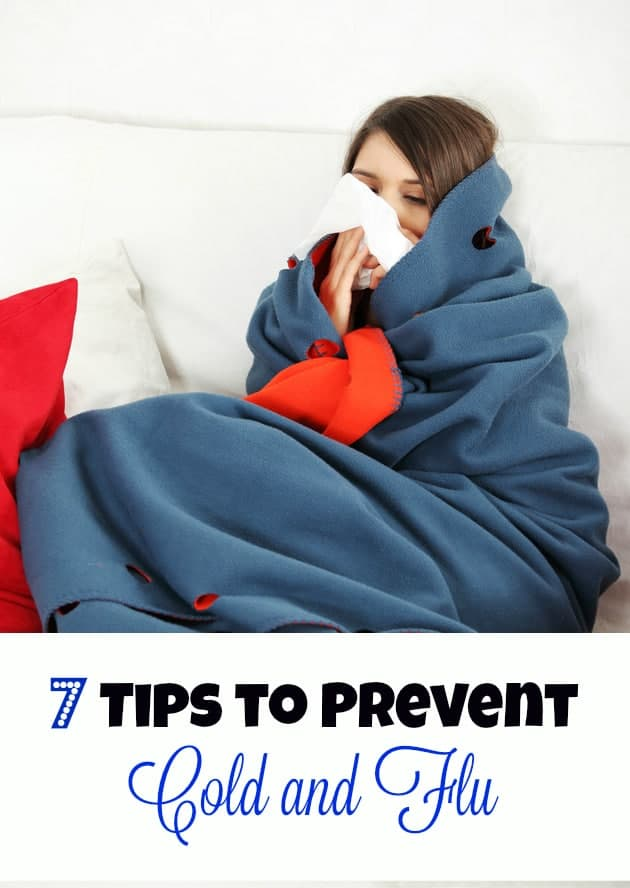 7 Tips to Prevent Cold and Flu