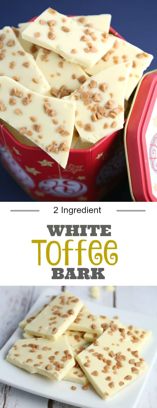 White toffee bark recipe