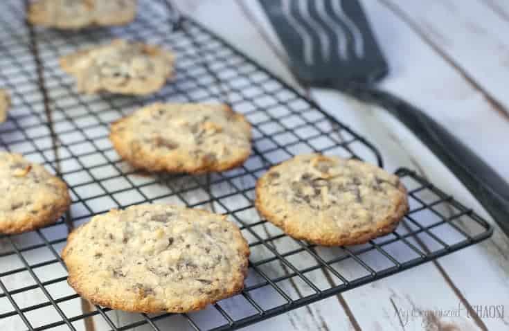 chocolate macaroon cookies 1