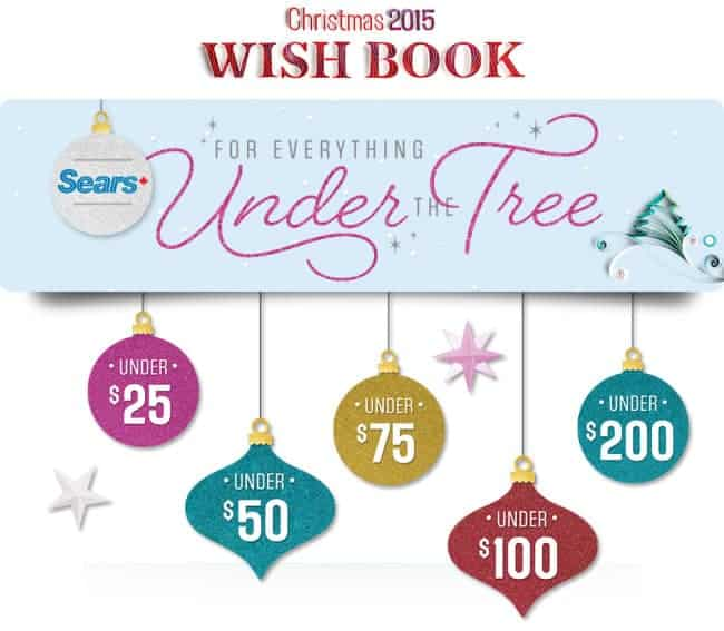 sears wishbook gifting ideas