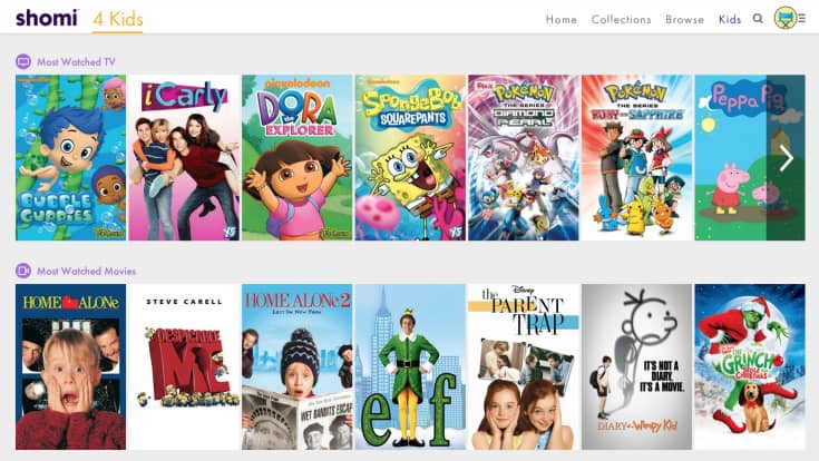 shomi kids shows movies review