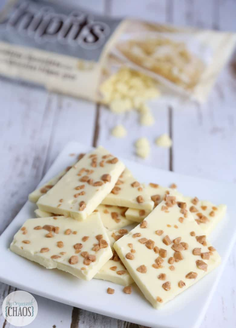 white toffee bark CHIPITS recipe