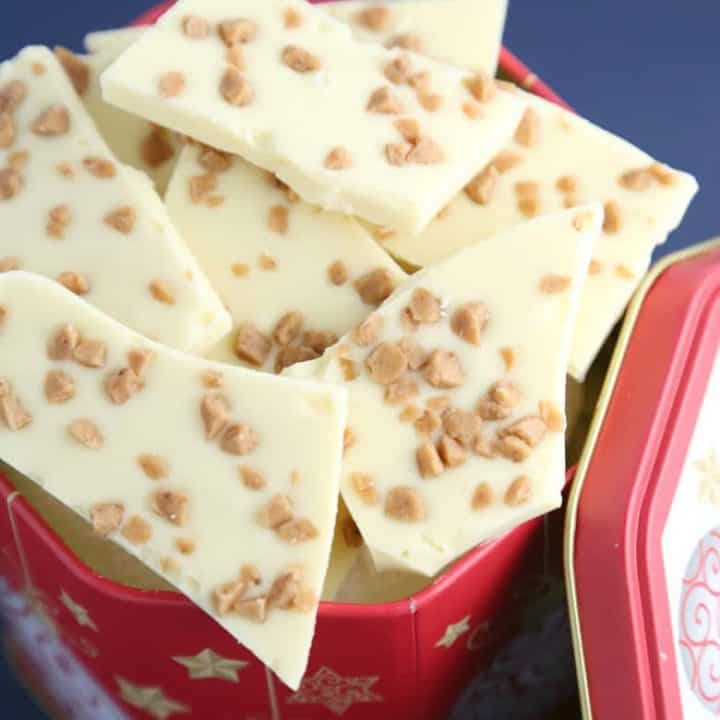 White Toffee Bark