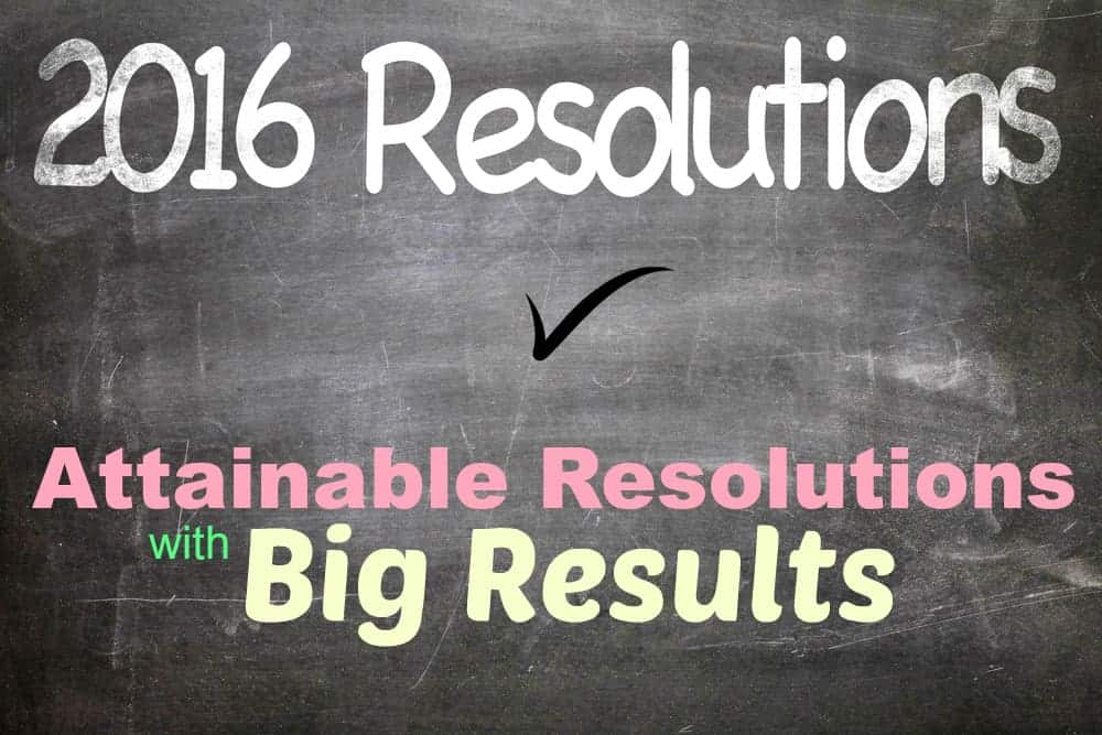 Attainable Resolutions with Big Results
