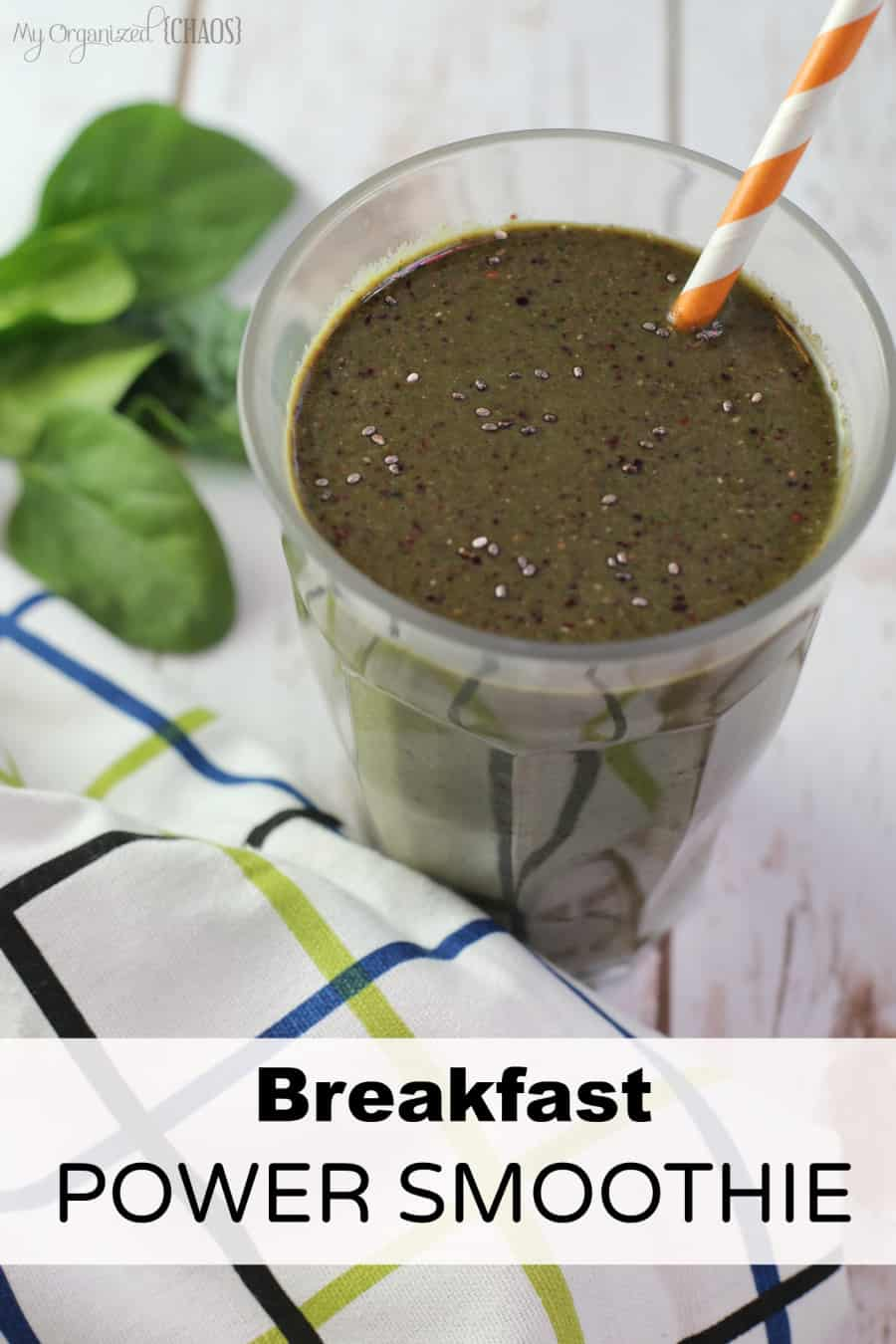breakfast power smoothie