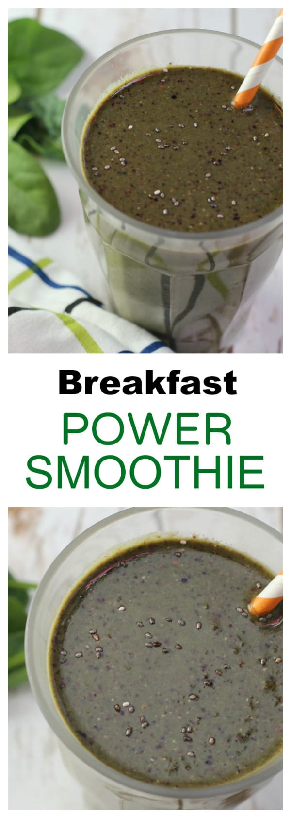 breakfast power smoothie recipe