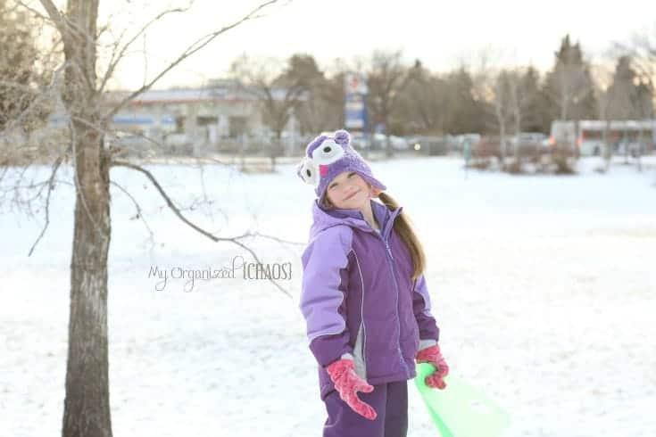 rediscovernature canadian winter sledding