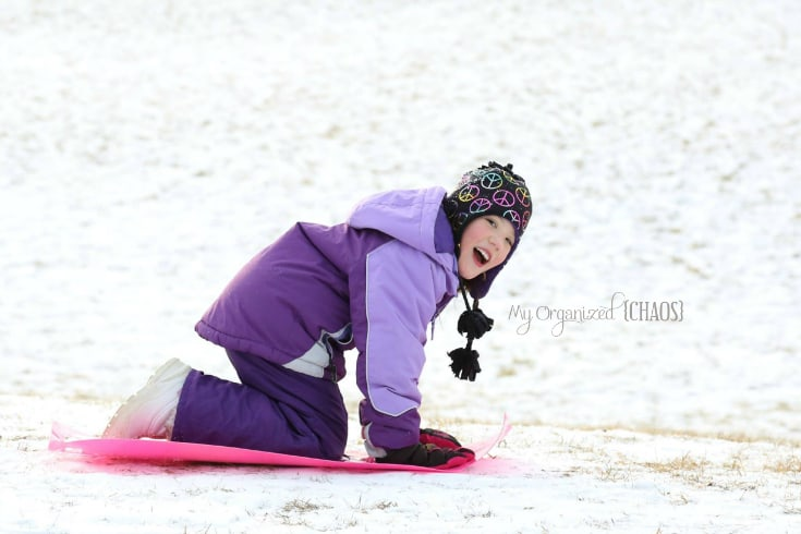 winter activities rediscovernature sledding kids
